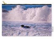 Dogs At Carmel California Beach Carry-all Pouch