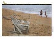 Dogs On The Beach Carry-all Pouch