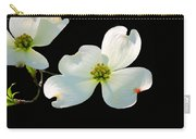 Dogwood Blossoms Painted For Jerry Carry-all Pouch