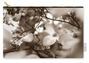 Dogwood Blossoms Carry-all Pouch by Sharon Popek