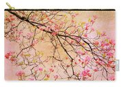 Dogwood  Canvas Carry-all Pouch