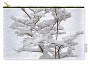 Dogwood In Snow Carry-all Pouch