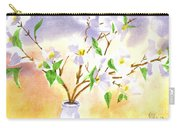 Dogwood In Watercolor Carry-all Pouch