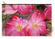 Dogwoods In Pink Carry-all Pouch