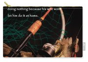 Doing Nothing Carry-all Pouch by Bill Wakeley