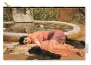 Dolce Far Niente Or Sweet Nothings 1904 Carry-all Pouch
