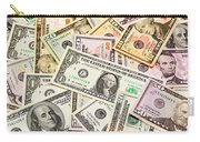 Dollars Background.  Carry-all Pouch