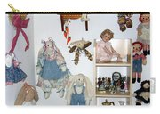Dolls And Such Carry-all Pouch