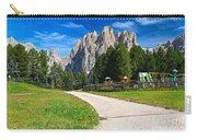 Dolomiti - Gardecia With Catinaccio Mount Carry-all Pouch