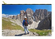 Dolomiti - Hiker In Sella Mount Carry-all Pouch