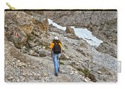 Dolomiti - Hiker In Val Setus Carry-all Pouch