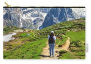 Dolomiti - Hiking In Contrin Valley Carry-all Pouch