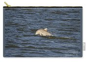 Dolphin At Sea Carry-all Pouch