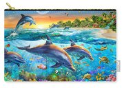 Dolphin Bay Carry-all Pouch by Adrian Chesterman
