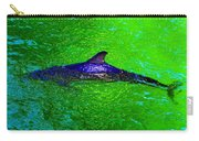 Dolphin In The Shallows Carry-all Pouch