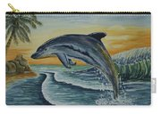 Dolphin Jumping Carry-all Pouch
