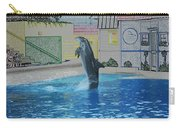 Dolphin Walking On Water Digital Art Carry-all Pouch