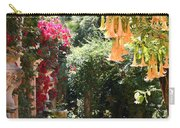Dolphinfountain And Flowers - France Carry-all Pouch
