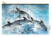 Dolphins In Gran Canaria Carry-all Pouch