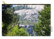 Dome Next To Half Dome Seen From Yosemite Valley-2013 Carry-all Pouch
