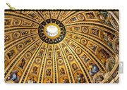 Dome Of St Peter's Basilica Vatican City Italy Carry-all Pouch