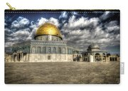 Dome Of The Rock Closeup Hdr Carry-all Pouch