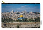 Dome Of The Rock In Jerusalem Carry-all Pouch