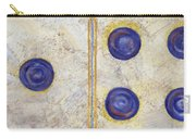 Domino Three Abstract Carry-all Pouch