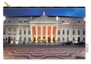 Dona Maria II National Theater At Night In Lisbon Carry-all Pouch