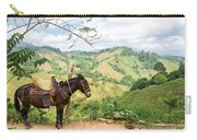Donkey And Hills Carry-all Pouch