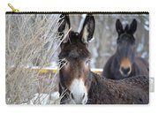 Donkey And The Mule Carry-all Pouch