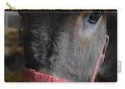 Donkey Behind Fence Carry-all Pouch
