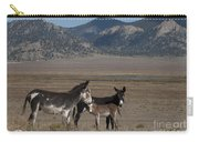 Donkeys In The Colorado Rockies Carry-all Pouch