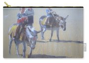 Donkeys At Borth Beach Carry-all Pouch