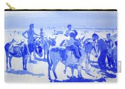 Donkey's On The Beach Carry-all Pouch