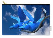Donna's 1st Blue Bird Flight Carry-all Pouch