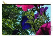 Donna's Blooming Petunias Carry-all Pouch