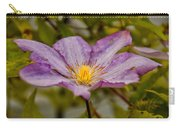 Donna's Purple Flower Carry-all Pouch