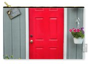 Donna's Red Friendship Door Carry-all Pouch