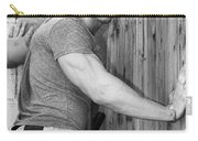 Dont Fence Me In Bw Carry-all Pouch by William Dey