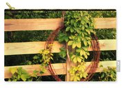 Don't Fence Me In Carry-all Pouch by Cricket Hackmann