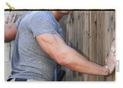 Dont Fence Me In Palm Springs Carry-all Pouch by William Dey