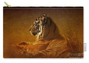 Don't Wake A Sleeping Tiger Carry-all Pouch