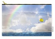 Dont Worry Be Happy Carry-all Pouch