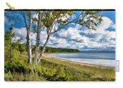 Door County Europe Bay Birch Carry-all Pouch