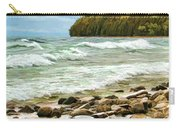 Door County Porcupine Bay Waves Carry-all Pouch