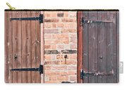 Door Hinges Carry-all Pouch by Tom Gowanlock