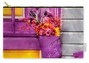 Door - Lavender Carry-all Pouch by Mike Savad