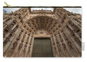 Door Of Assumption Of The Seville Cathedral Carry-all Pouch
