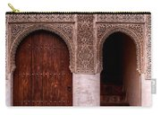 Door Of The Court Of The Myrtles 2 Carry-all Pouch